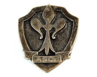 Vintage Badge Italian Scout Federation, Scout Federation, ASCI Italian Scout Federation, Boy Scouts , Italy Badge, Gift, Italian Scout