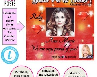 Ruby Star Post