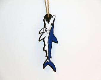 "7"" Mako Shark MDF Carving"