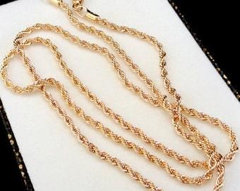 Gold chain necklace men Gold necklace for men Rope Men jewelry Rope necklace Jewelry for men Gold chain men Rope chain Bulk chain