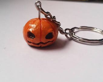 Pumpkin Keyring/ Bag Charm