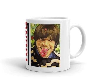 Neil Young Mug, Mug, Coffee Mug, Musician Mug, Pop Art, Neil Young, Ceramic Mug, 11 oz mug, Neil Young Art, Buffalo Springfield Art, Retro
