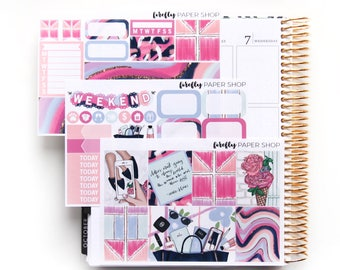 Style MINI Weekly Kit (stickers for Erin Condren Life Planner - Vertical)