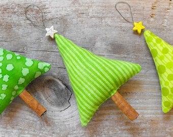 3 Christmas Tree Ornaments