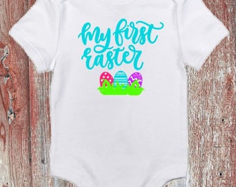 My First Easter Infant Bodysuit or Toddler Tshirt