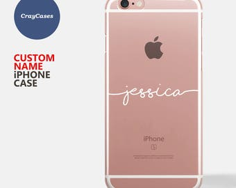Custom iPhone case, personalised iPhone 7 case, personalized iPhone 6 case, iPhone 7 plus personalised, iPhone 8 case personalised [UK MADE]