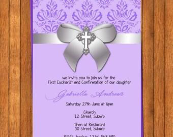 Communion Confirmation Invitation