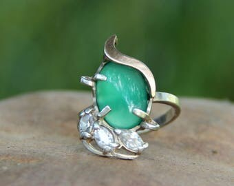 Silver Ring Vintage signet ring 925 Sterling Silver Jewelry retro Jewelry Victorian Jewelry Victorian Ring retro ring Statement Ring Size 8
