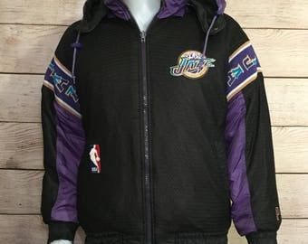 Vintage NBA Basketball Utah Jazz ProPlayer Jacket