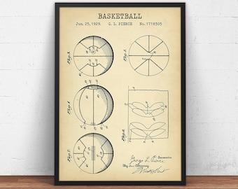 Basketball blueprint etsy basketball patent print sports ball blueprint art digital download basket ball poster printable malvernweather Image collections