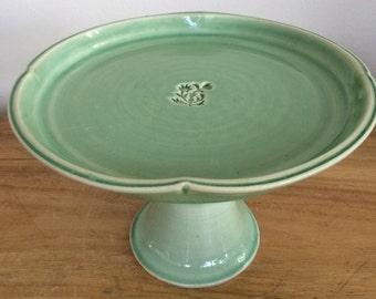 Handmade Ceramic Cake Stand