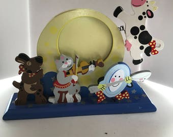 Picture Frame Nursery Rhyme Hey Diddle Diddle