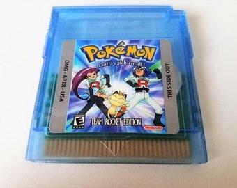 Pokemon Team Rocket Edition Nintendo Game Boy (GBC GBA) -(English Fan Hack) Gameboy