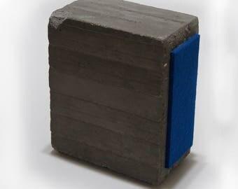 concrete bookend- gray