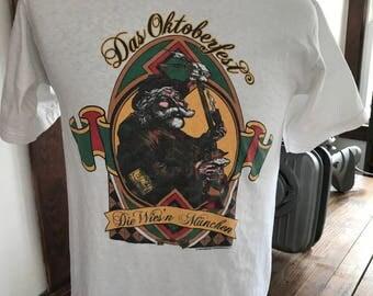 Vintage Oktoberfest Beer T Shirt