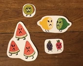 Nasty Fruit Sticker Pack