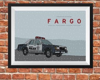 Fargo Poster UNFRAMED
