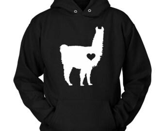 Alpaca Hoodie, Alpaca Clothing, Alpaca Gift Ideas, Gift for Alpaca Lovers, Alpaca Gift, Alpaca Lover, Alpaca Present, Alpaca Sweatshirt