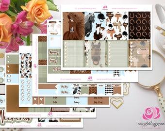 Horses Deluxe Planner Sticker Kit | Erin Condren | Happy Planner