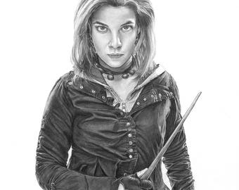 "8.5x11"" OR 11x17"" Print of Natalia Tena as Nymphadora Tonks from Harry Potter"