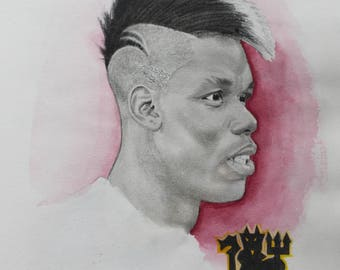 A4 Paul Pogba - Manchester United and France Midfielder