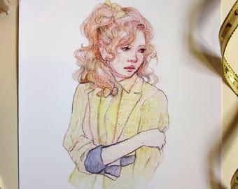 Heather McNamara - A5 Giclée Print