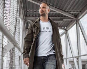 I Am Redeemed - Redeemed Shirt - Redeemed T Shirt - Faith Tee - Christian Apparel - Christian Shirt - Christian Clothing - Faith Apparel