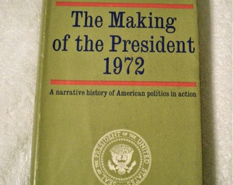 Making of President 1972 Book