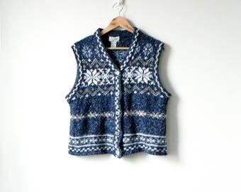 Fair isle sweater vest   Etsy
