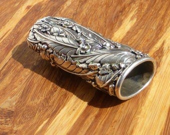 Sterling Silver Bic Lighter Cover / Case / Sleeve
