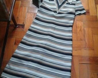 Vestido anos 70 Tamanho M