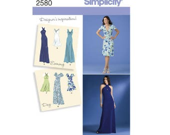 Simplicity 2580 - Misses Special Occasion Dresses