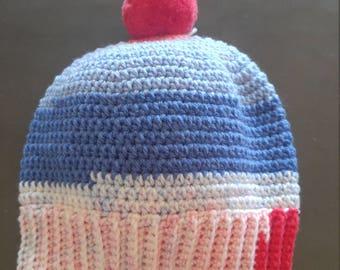 Children's PomPom Hats