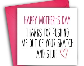 Funny Mother's Day Card | Snatch