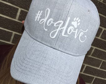 Dog Love Custom Hat-Paw Print Hat-New
