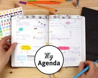 My Agenda 2017-2018, l'agenda scolaire + bullet journal