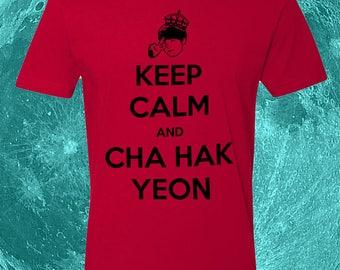 Keep Calm and Cha Hak Yeon - VIXX t-shirt