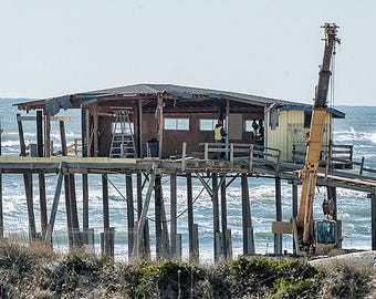 Frisco Pier Deconstruction I