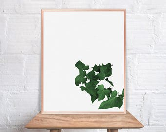 Leaf Wall Art / Leaf Home Decor / Leaf Print / Leaves / Leaf Art /