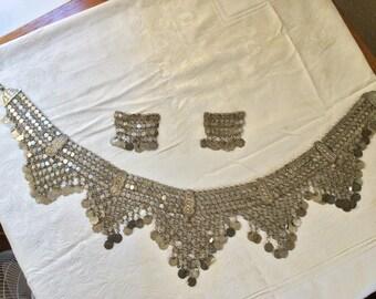 Turkish mixed silver bellydance coin belt