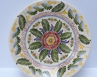 Pottery Aurora, Workum (Friesland) - Majolica plate- 1947