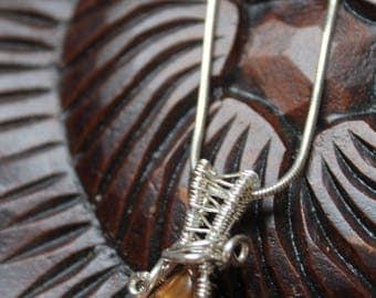 Tiger Eye Pendant Awaken the Third Eye
