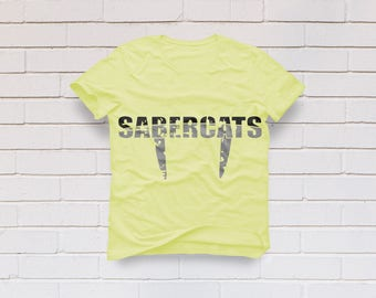 Sabercats svg, Sabercat svg, Cats svg, Sabercats shirt, Football mom svg, Distressed svg, Cricut, Cameo, Clipart, Svg, DXF, Png, Pdf, Eps