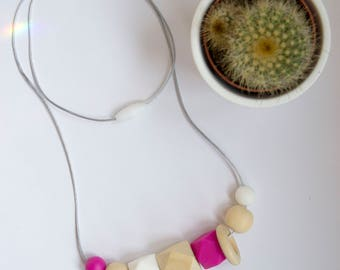Nursing Necklace | Breastfeeding Necklace | Teething Necklace | Silicone Necklace | Baby shower gift | Teething Jewelry | Chewable Jewellery