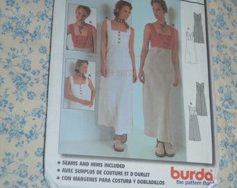 Burda 8833  Misses Dress Sewing Pattern - UNCUT - Size  10 12 14 16 18 20