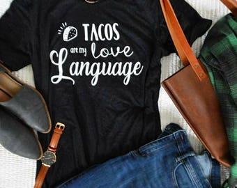 Taco Shirt | Taco Tuesday | Perfect for Taco Lovers | Funny T-shirt | Tacos Shirt | Foodie Gifts | Graphic Tee | Women's Clothing
