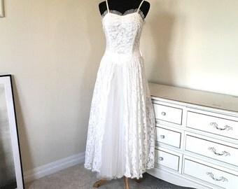 1920s 1930s Wedding dress gown sz xxs xs