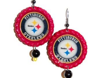 Pittsburgh Steelers Inspired Earrings