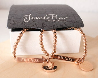 Rose Gold Friendship Bracelets