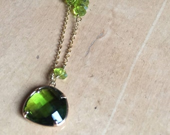 Necklace Green/Gold